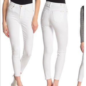 White 7forallmankind jeans
